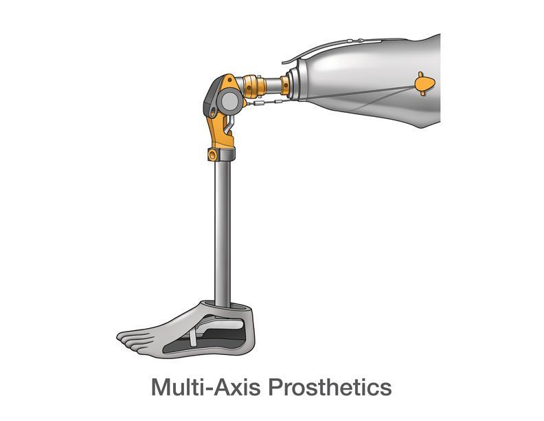Multi-Axis Prosthetics