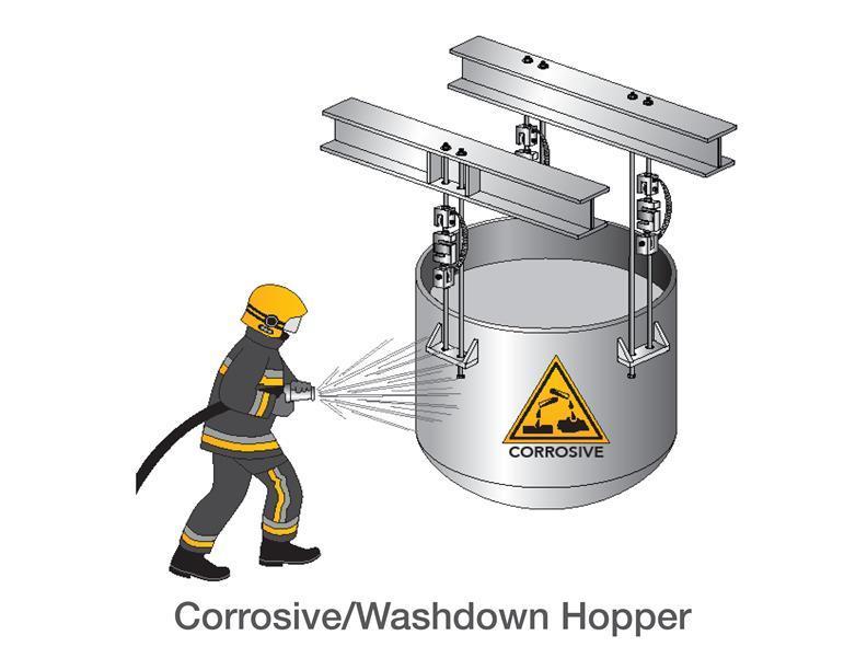 Corrosive/Washdown Hopper