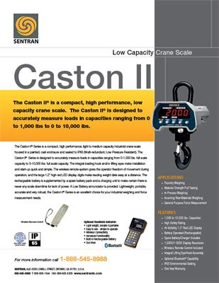 Datasheet on Caston II (Crane