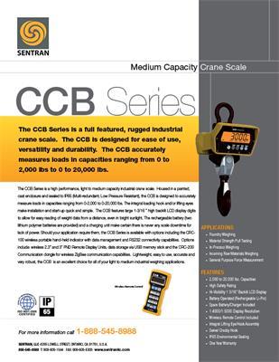 Datasheet on CCB (Crane