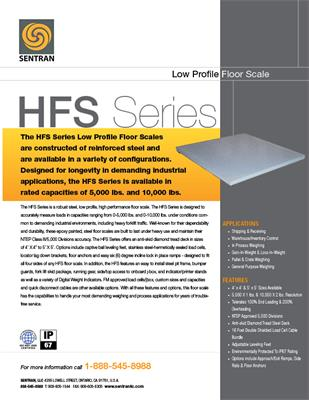 Datasheet on HFS (Floor