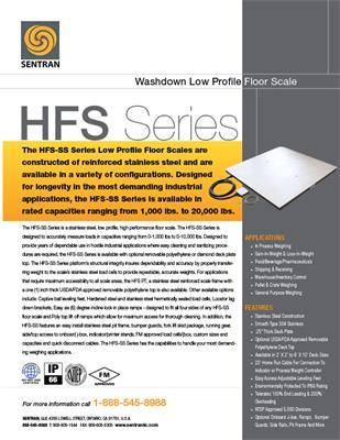 Datasheet on HFS-SS (Floor