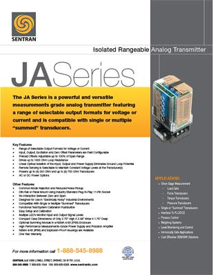 Datasheet on JA (Analog