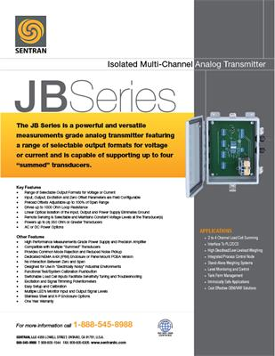 Datasheet on JB (Analog