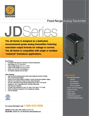 Datasheet on JD (Analog