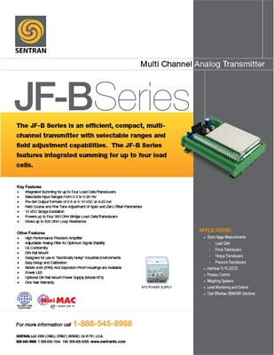 Datasheet on JF-B (Analog