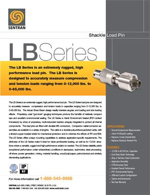 Datasheet on LB (Shackle