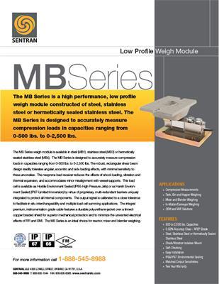 Datasheet on MB (Low Range
