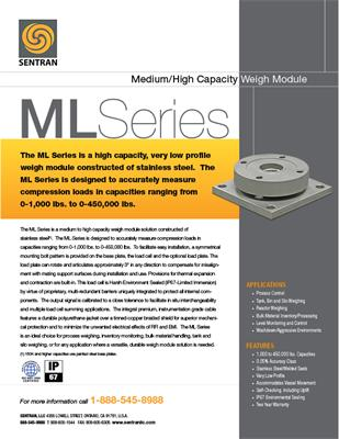 Datasheet on ML (Mid Range / High Range