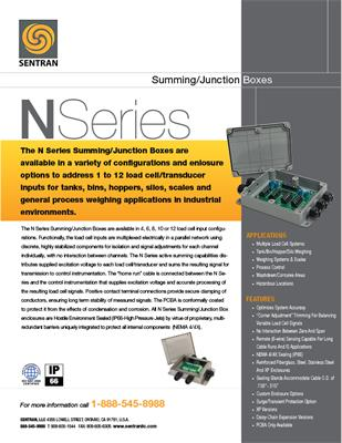 Datasheet on N Series (Summing/Junction Box