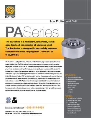 Datasheet on PA (Low Profile
