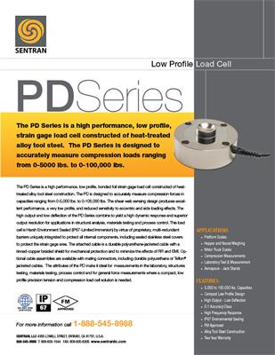 Datasheet on PD (Low Profile