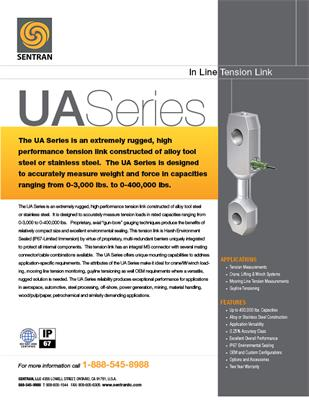 Datasheet on UA (In Line Pivot End