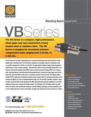Datasheet on VB (Bending Beam