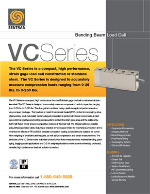 Datasheet on VC (Bending Beam