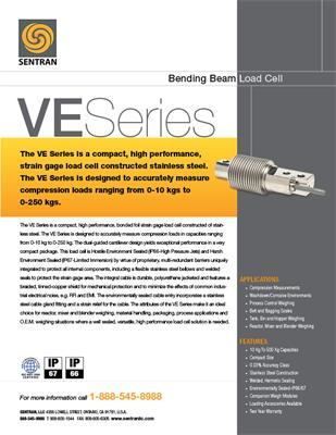 Datasheet on VE (Bending Beam
