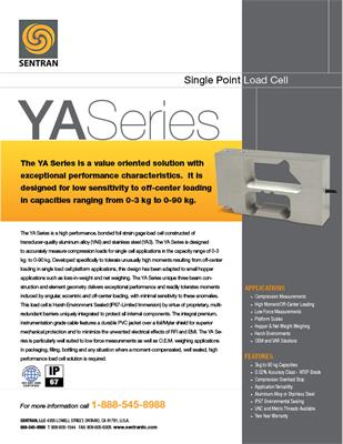 Datasheet on YA (Single Points