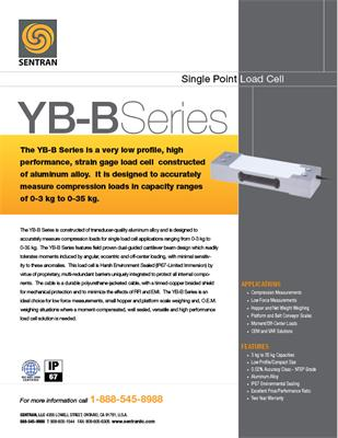 Datasheet on YB-B (Single Points