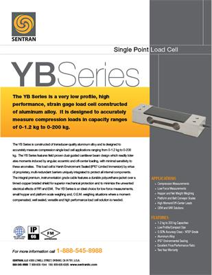 Datasheet on YB (Single Points