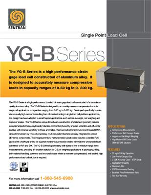 Datasheet on YG-B (Single Points