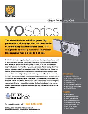 Datasheet on YO (Single Points