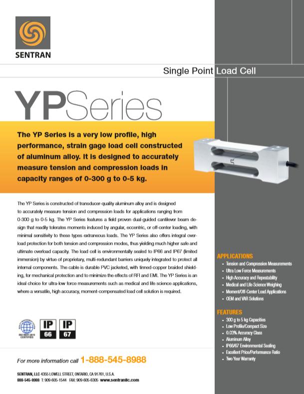Datasheet on YP (Single Points