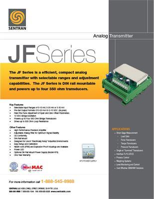 Datasheet on JF (Analog