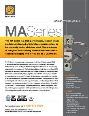 Datasheet on MA (Tension Mount