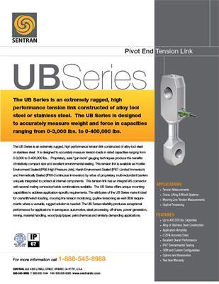 Datasheet on UB (90° Pivot End