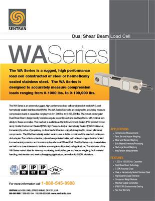 Datasheet on WA (Dual Shear Beam