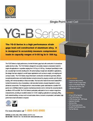 Datasheet on YG-B (Single Points