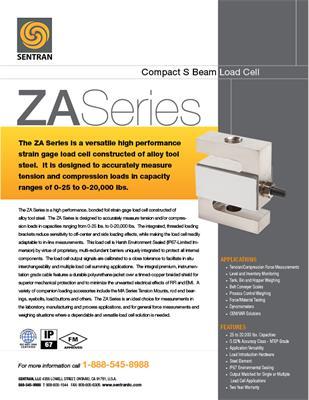 Datasheet on ZA (S Beam